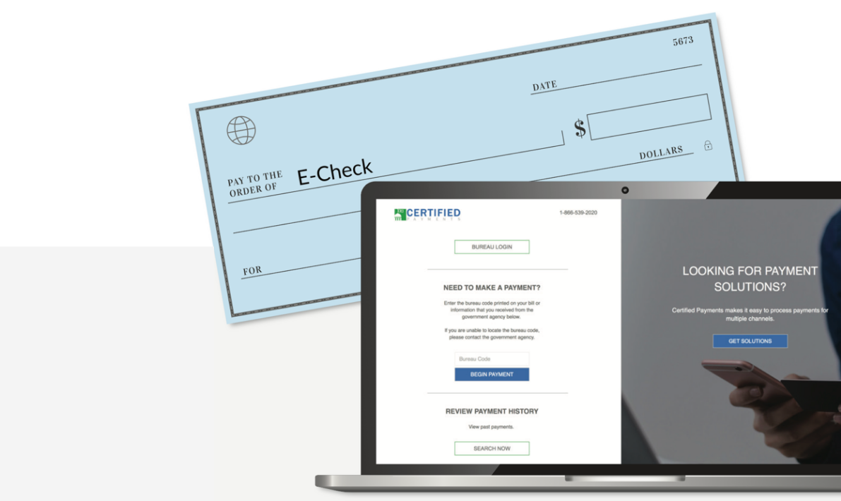 Introducing eCheck Verification: Fast and Secure ACH Deposit Service