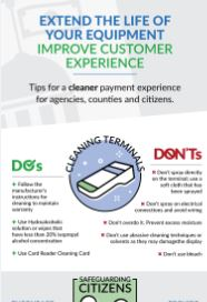Tips for a Clean Payment Experience Infographic
